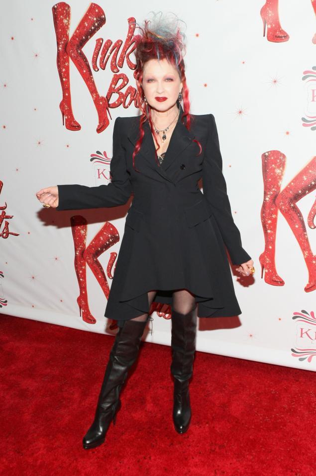 Cyndi Lauper kinky boots